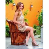 Zapatos Charol Plataforma Acoginada Detalle Dorado Oro 2-7