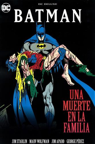 Batman Una Muerte En La Familia Dc Deluxe
