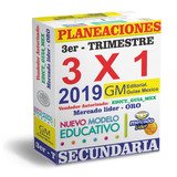 Planeaciones Secundaria - 3er Trimestre 2019