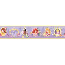 Disney Princesas Cenefas Vinil Decorativo Recamara Niñas