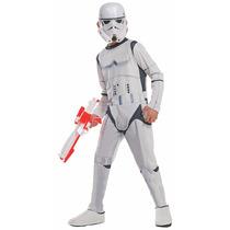 Star Wars Disfraz Traje Stormtrooper Niño Talla S