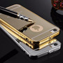 Funda Bumper Case Espejo Lujo Iphone 5s, 6, 6s Y 6 Edge