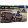 Tanque Italeri Volkswagen Typ 82 Kubelwagen 1/35 Armar Pinta