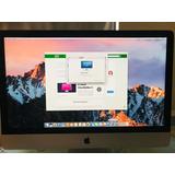 Apple iMac 27 Core I7 Gforce Gtx Ddr5 32gb 2tb Ssd All 1 One