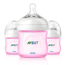 Avent Linea Natural _ Kit De 3 Biberones De 4oz_hm4