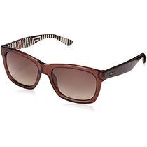 Gafas Lacoste L711s Gafas De Sol Wayfarer Brown, Brown