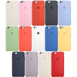 Funda Silicon Iphone 5 5s Se 6 6s 7 8 Plus X Xs 24 Colores