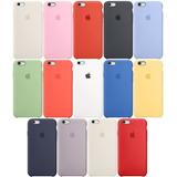 Funda Silicon Iphone 5 6 6s 7 8 Plus X Xs Max Xr 24 Colores