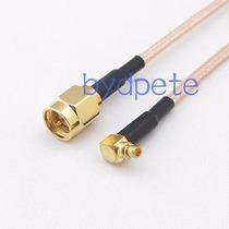 Cable Mmcx Macho Derecho A Sma Macho Plug Rf Pig Rg316 50cm