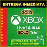 Xbox Live Gold(***más Regalo**)  14 Días Código P/ One Y 360