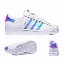 Tenis Superstar Tornasol Iridecent Originales Adidas