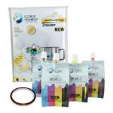 Kit 4 Tintas Sublimación Papel Cinta Color Make Envío Full