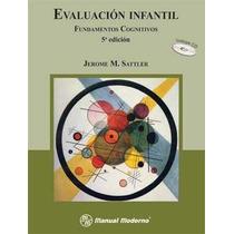Evaluación Infantil I. Fundamentos Cognitivos. Incluye Cd