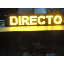 Anuncio Programable Led Autobus/ruta Display Amarillo Bus