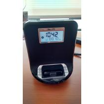 Radio Reloj Despertador Dock Ipod O Iphone4 Philips Aj301db