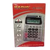 Calculadora Eletronica 8 Digitos Porta Plumas  Kadio