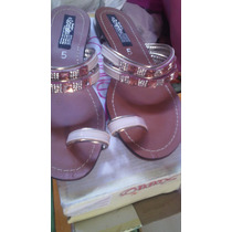 Sandalias Para Dama Con Cristales