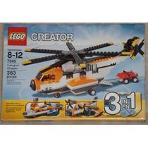 Lego Creator Transport Chopper 3 En 1 Helicóptero 7345