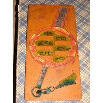 Armas Azteca, Antigua Pieza De Cobre Esmaltada Unica Mide 6x