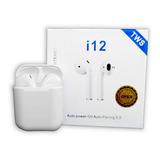 I12 Tws AirPods Audifonos Inalambricos Bluetooth Garantia