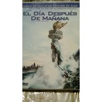 El Dia Despues De Mañana Dvd, Original, Usado Vbf