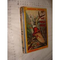 Libro La Perla Roja ,colección Salgari , Año 1958, 246 Pag