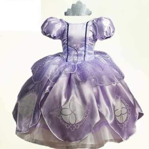 Vestido Princesa Sofía Tallas 2 8 En Venta En Francisco