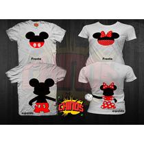 Playeras Mickey Y Minnie Para El Dia Del Amor, 14 De Febrero
