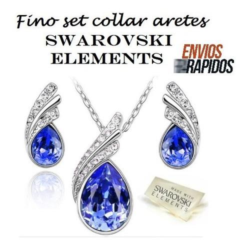 801a01410387 Aretes Collares Joyeria Swarovski Elements en venta en Anáhuac ...