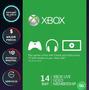 Xbox Live Gold 14 Días Región Libre Código[xbox One/360]