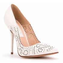 Elegantes Zapatillas Andrea Color Hueso Zapatos Cerrados