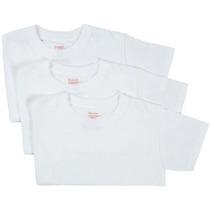 Hanes Chavales 3-pack Red Label Crew Neck Camisetas