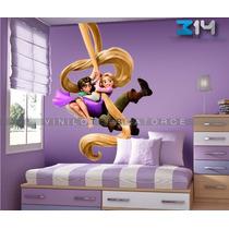 Enredados 6, Vinil Decorativo Princesa Rapunzel Calcomanía