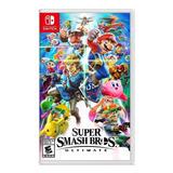 Super Smash Bros Ultimate Nintendo Switch Nuevo En Español
