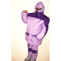 Combo Nieve Parka Chamarra Pantalon Esqui Termica Botas