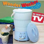 Mini Lavadora Portatil Wonder Washer Como Lo Vio En La Tv