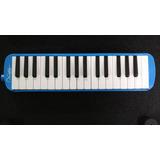 Melodica Escolar 32 Teclas Con Estuche De Tela Azul
