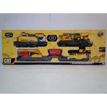 Tren Electrico Caterpillar Construction Express Train Cat