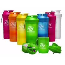 Shaker Smartshake 600 Ml Neon Mezcla Proteina Todos Colores
