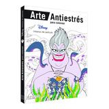 Disney Villanos Colorear Arte Libro Antiestres Male Mandalas