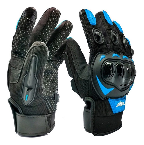Guantes Para Motociclista Isp Touch Varios Colores