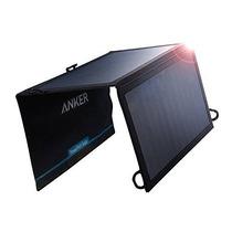 Anker 15w De Los Puertos Duales Usb Cargador Solar Powerport