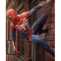 Disfraz / Cosplay Para Coser De Spiderman Ps4