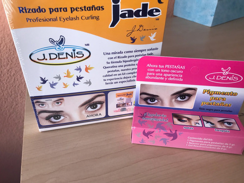 Kit Para Rizado De Pestañas Con Pigmento J Denis En Venta