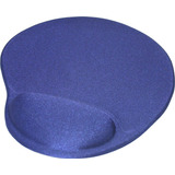 Mousepad Tapete Ergonomico De Gel Antideslizante Negro Raton