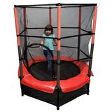 Trampolin Mini Brincolin Infantil Con Red De Seguridad 1.4m