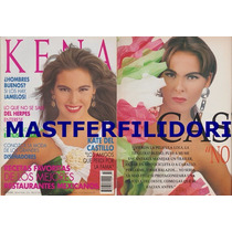 Kate Del Castillo Revista Kena De Septiembre 1993