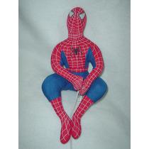 Spiderman Con Cuerda Original De 35cms De Alto Nuevo