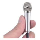 Mini Microfono Entrada 3.5 Smartphone Pc Para Regalo Celular