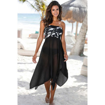 2921d75dfff9 Elegante Vestido Y Pareo, Versátil en venta en Jardines Del Valle ...